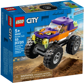 60251 CITY  Monster Truck NEW 01-2020