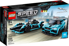 76898 SPEED RACERS - FORMULA E PANASONIC JAGUAR GEN2 & JAGUAR I-PACE eTROPHY NEW 01-2020